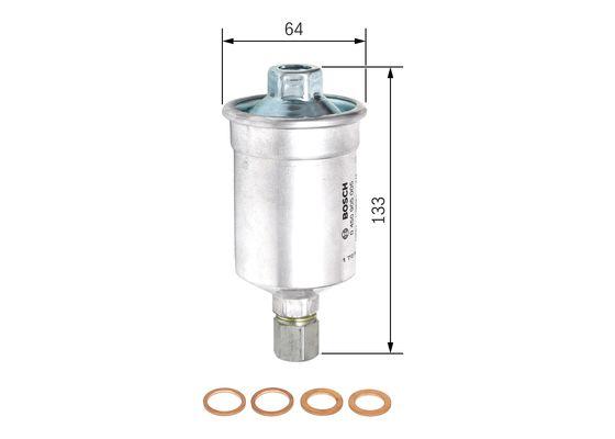 Filtro jetronic ALFA LANCIA  BOSCH-0450905005 - 21,48