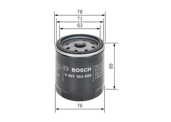 Filtro de Aceite  BOSCH-0451103050 - 6,21