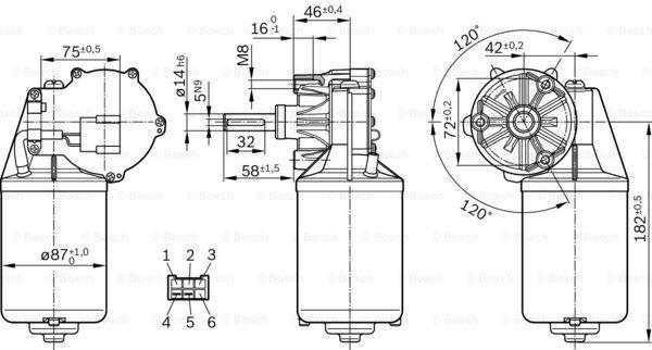 3 Sd Wiper Motor Wiring Diagram Bosch. Ac Motor Wiring Diagram ...  Sd Sensor Wire Diagram on