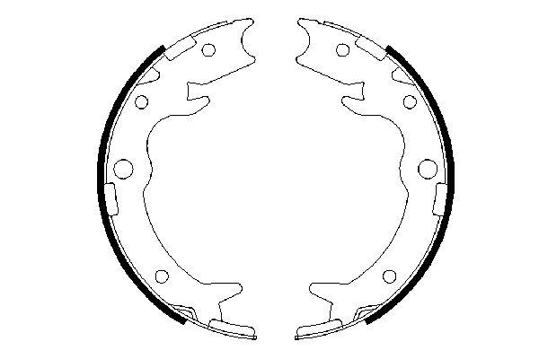 Bosch Brake Pad And Spare Parts For Honda Car Trucks