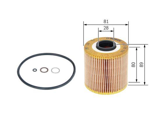 (P9760*) Filtro de Aceite bmw   s3  BOSCH-1457429760 - 6,1