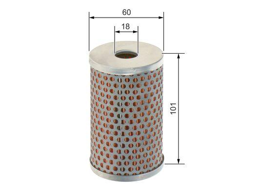 Filtro de Aceite  BOSCH-1457429820 - 4,63