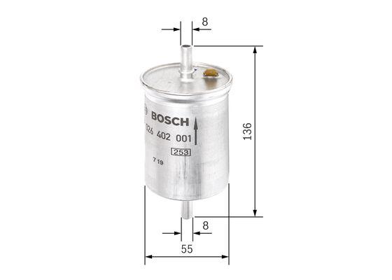 Mann Filter WK6126 filtro de combustible