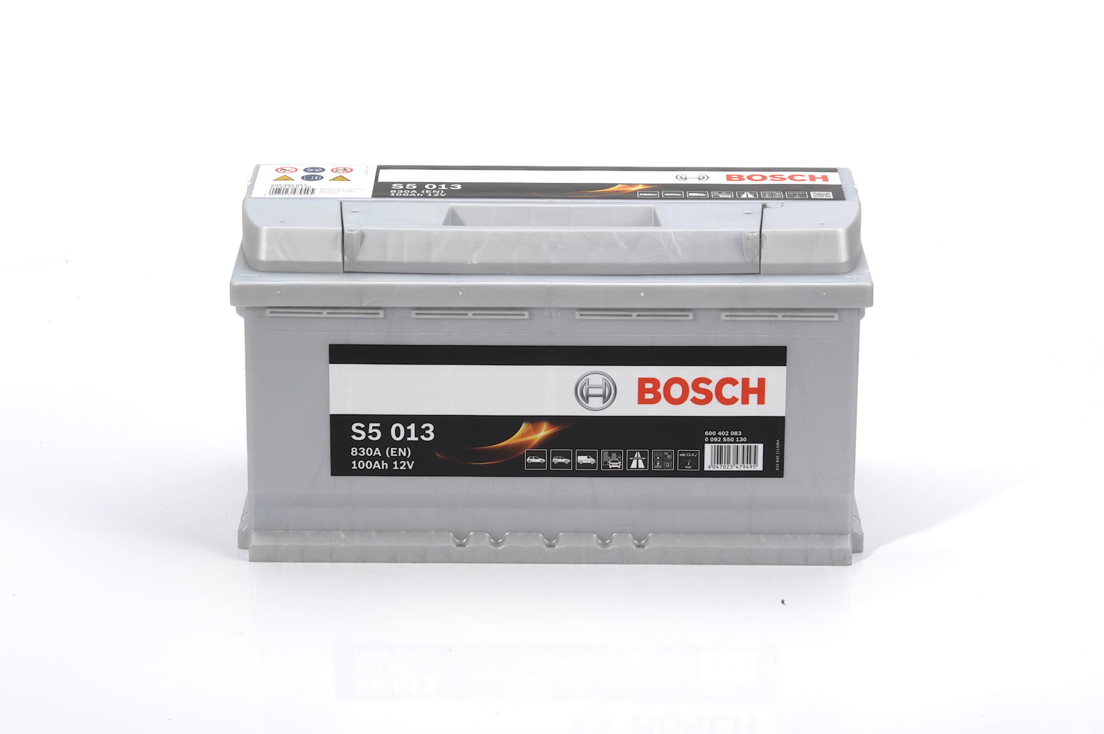 Acumulator BOSCH 100Ah 830A - 0 092 S50 130