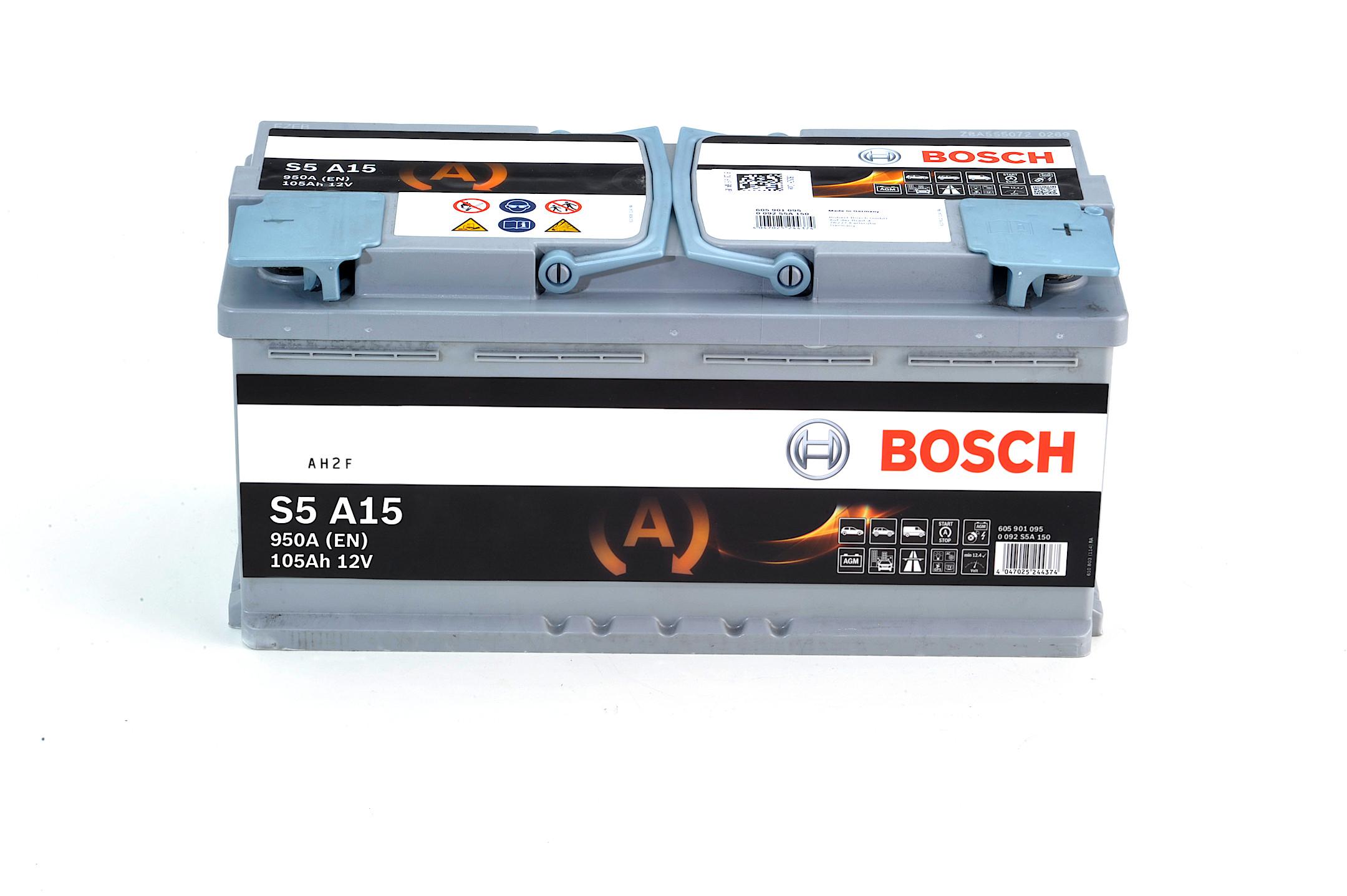 Acumulator BOSCH 105Ah 950A - 0 092 S5A 150