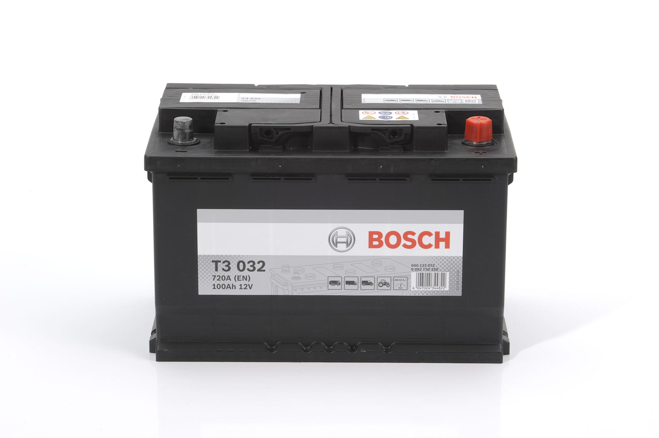 Acumulator BOSCH 100Ah 720A - 0 092 T30 320