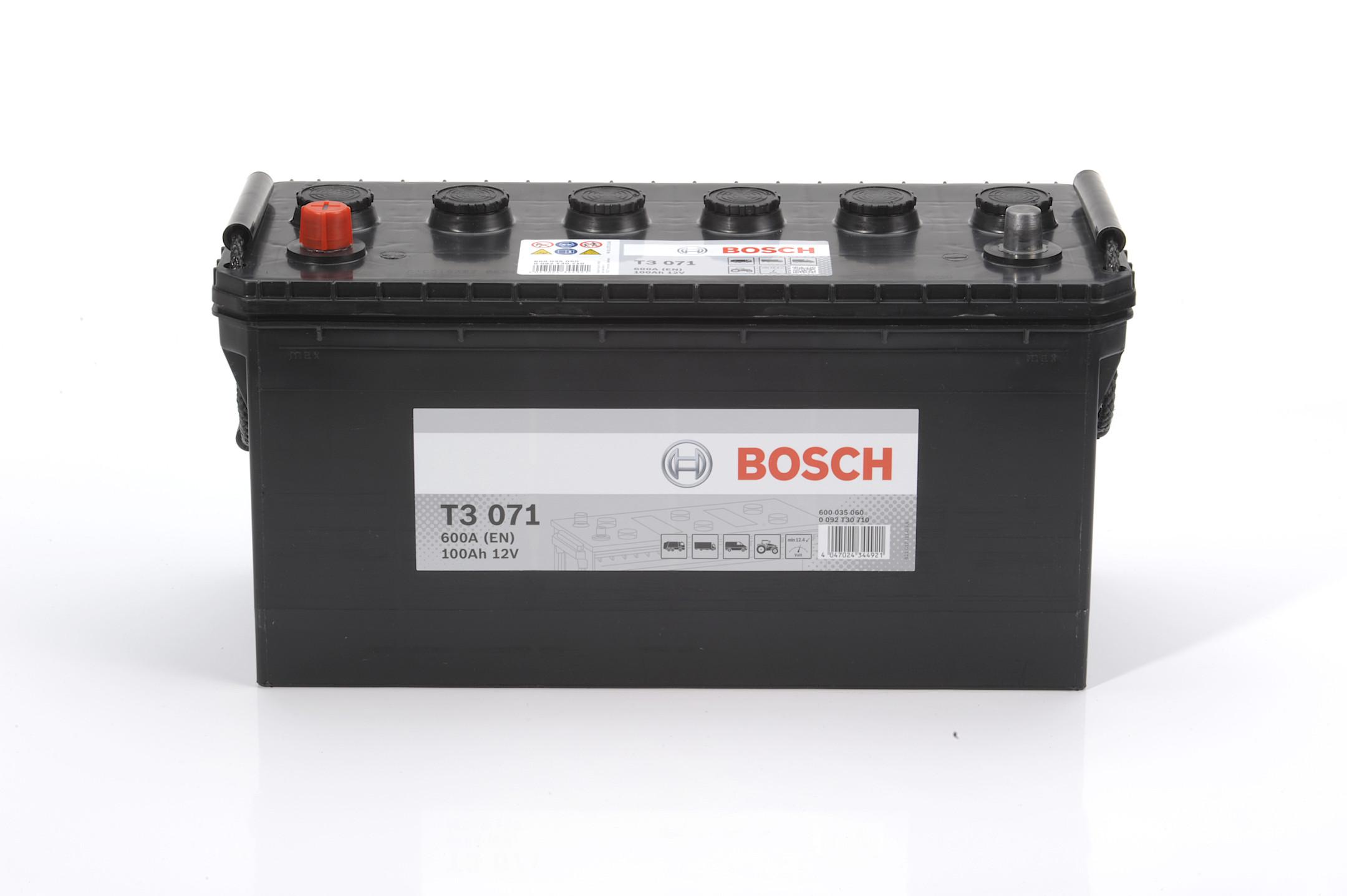 Acumulator BOSCH 100Ah 600A - 0 092 T30 710