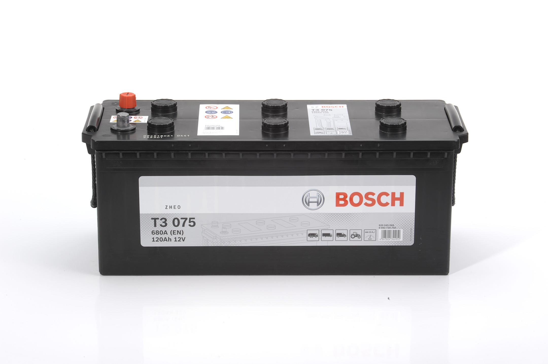 Acumulator BOSCH 120Ah 680A - 0 092 T30 750