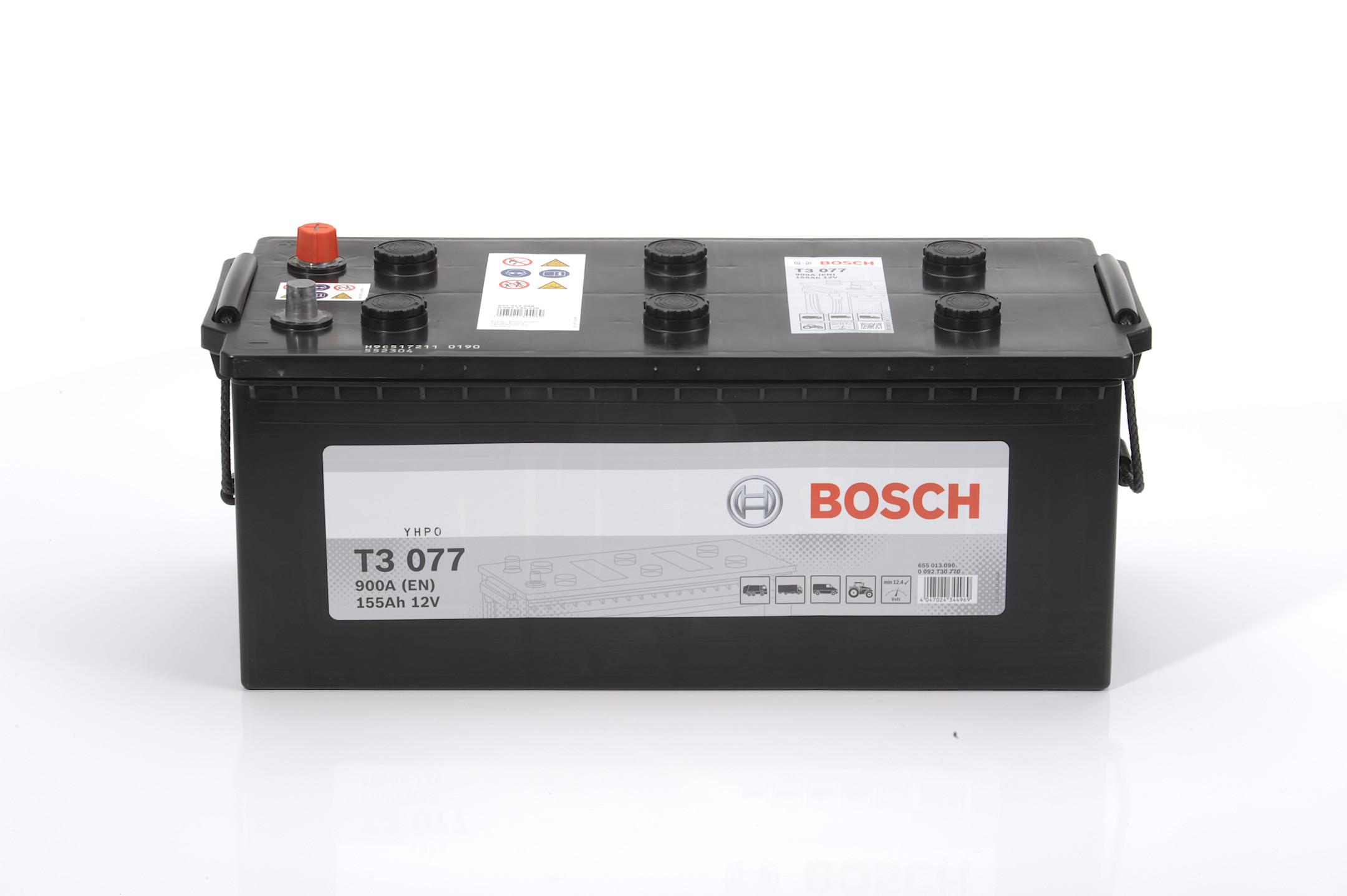 Acumulator BOSCH 155Ah 900A - 0 092 T30 770