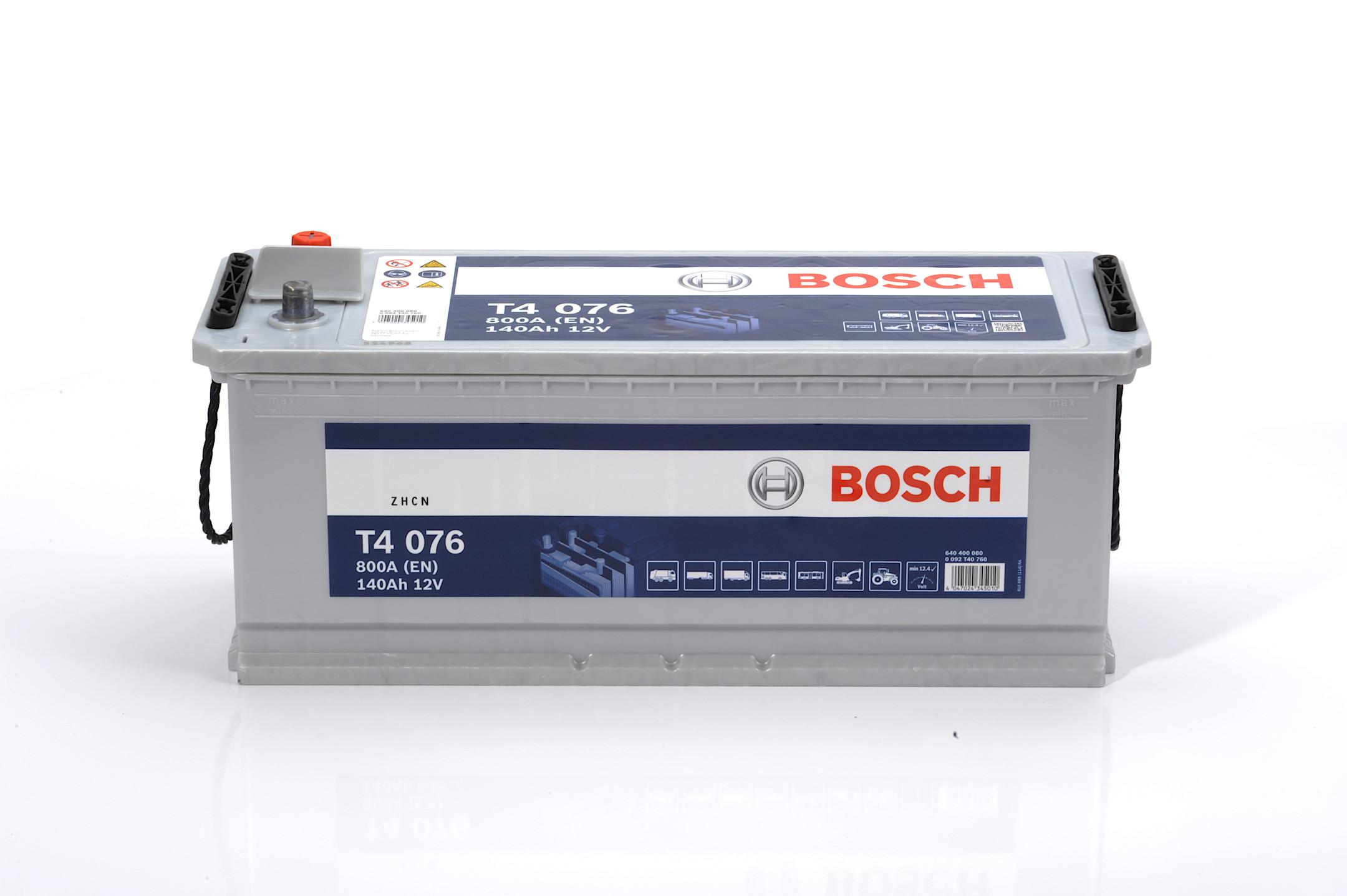 Acumulator BOSCH 140Ah 800A - 0 092 T40 760