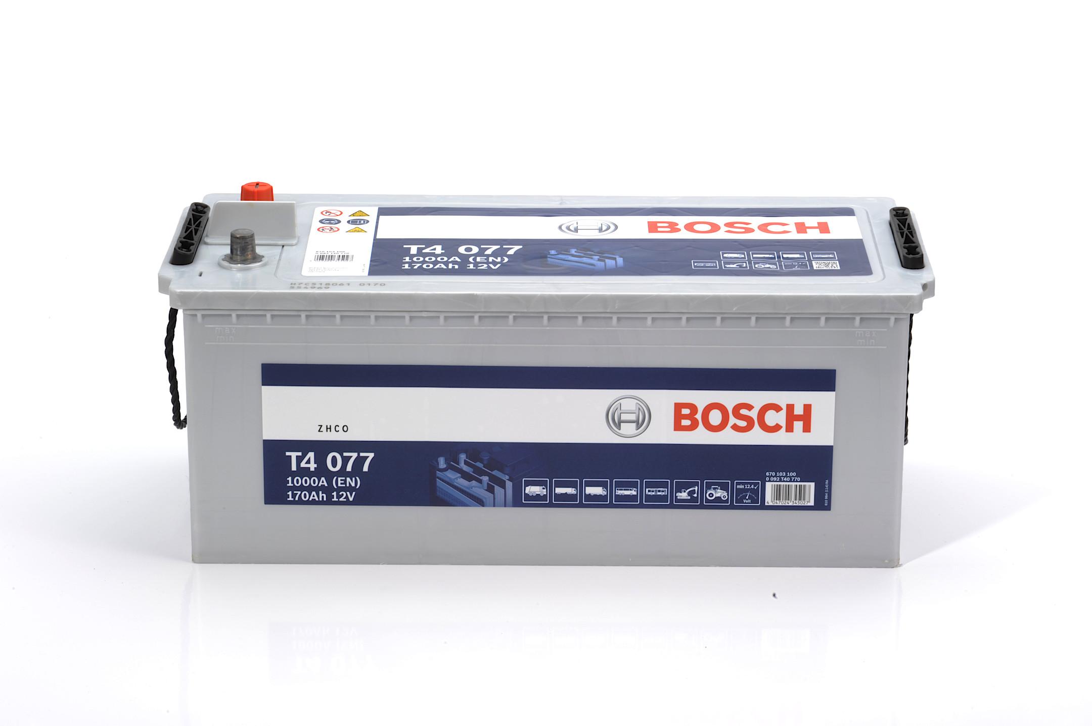 Acumulator BOSCH 170Ah 1000A - 0 092 T40 770