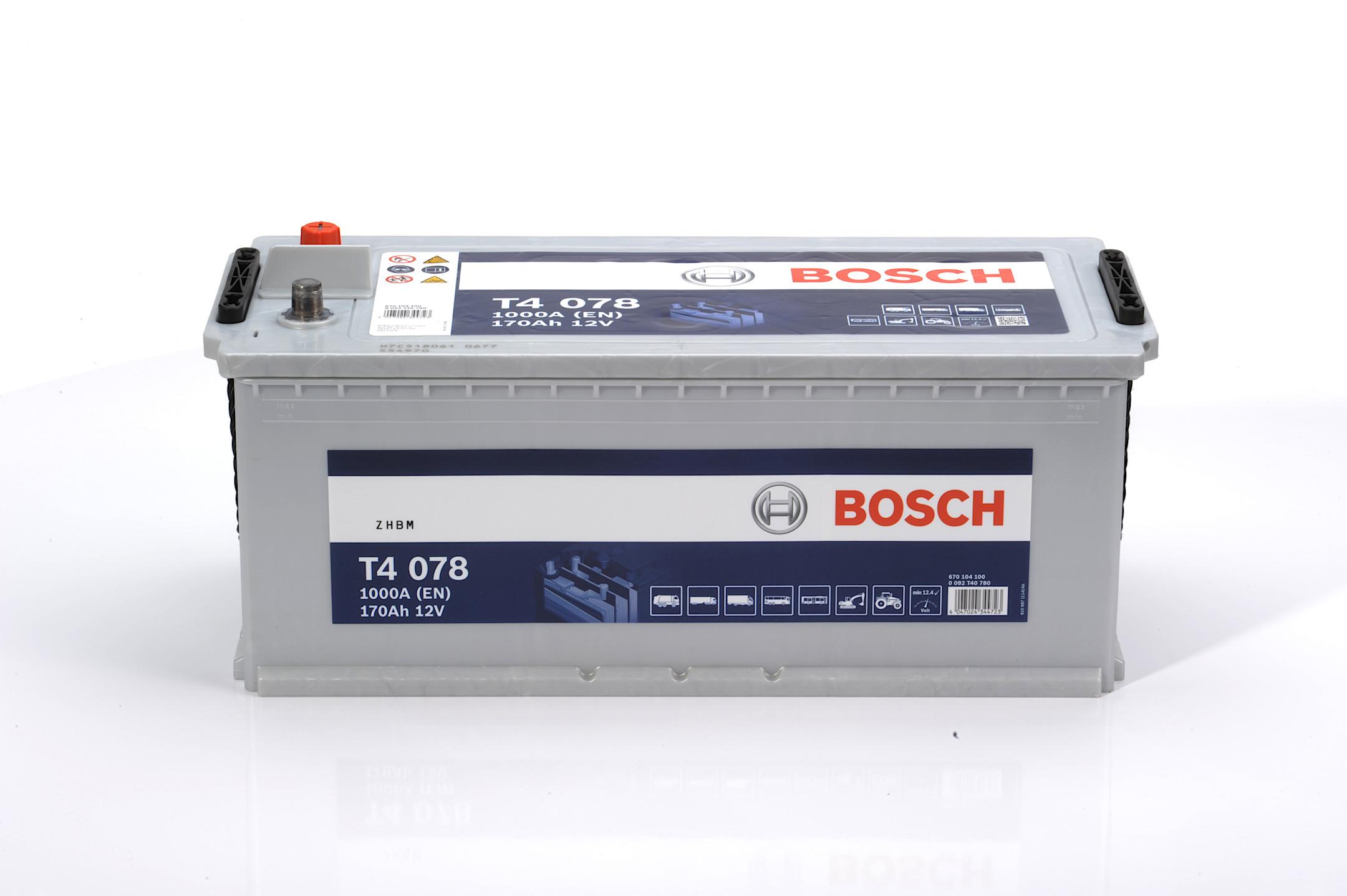 Acumulator BOSCH 170Ah 1000A - 0 092 T40 780