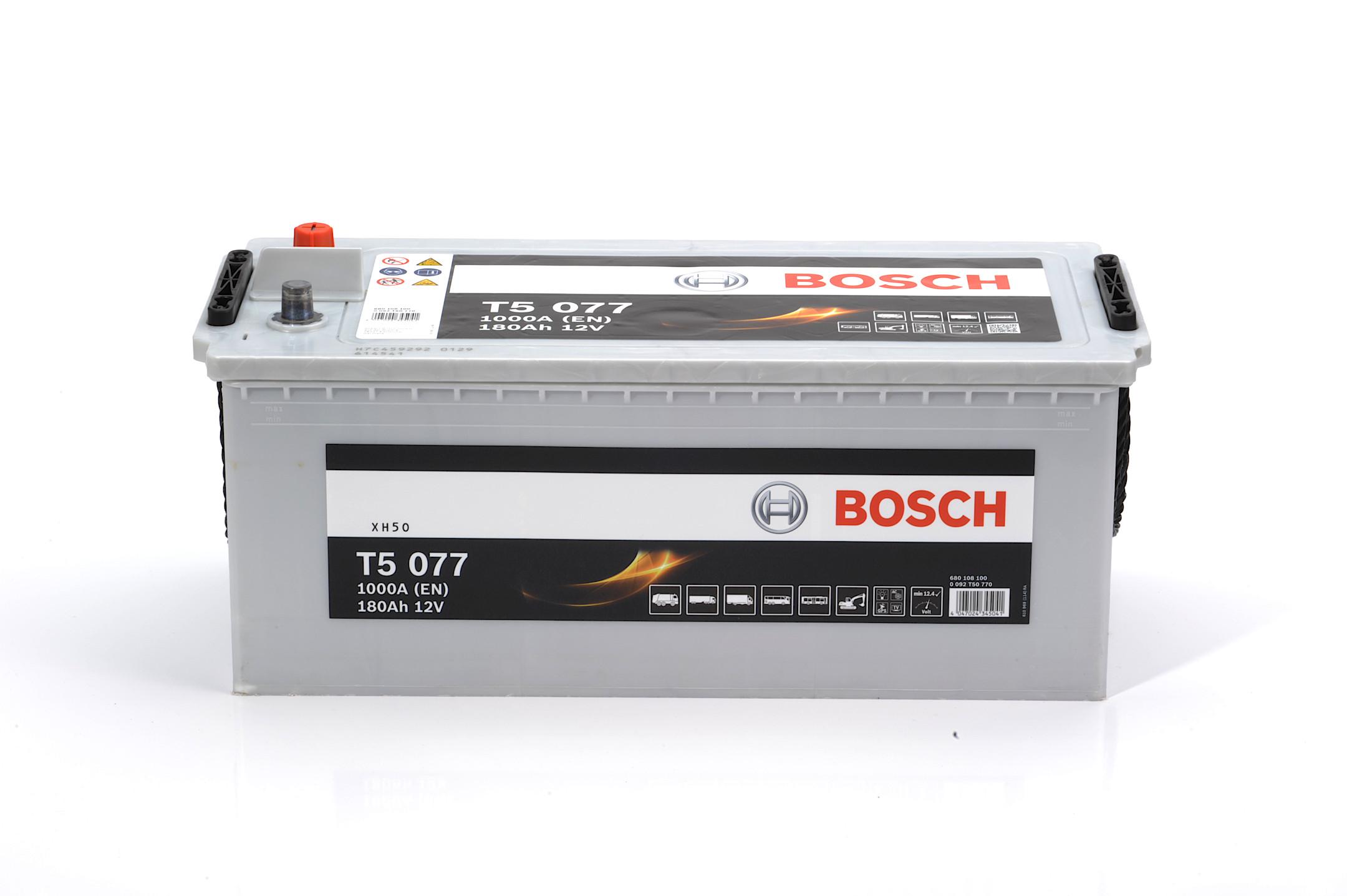 Acumulator BOSCH 180Ah 1000A - 0 092 T50 770