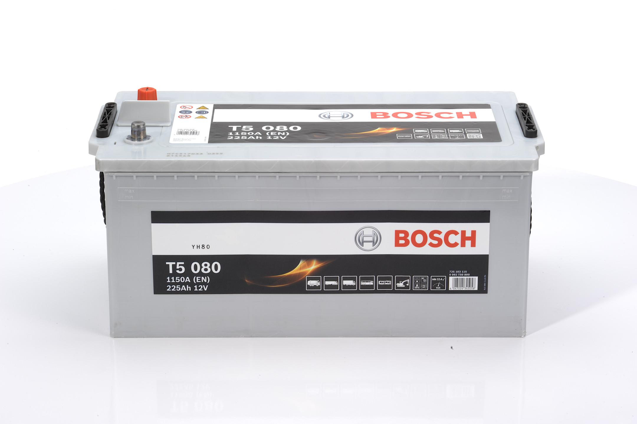 Acumulator BOSCH 225Ah 1150A - 0 092 T50 800