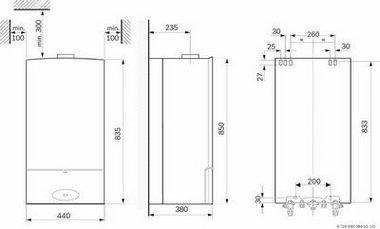 junkers cerastar zwn 18 7 ke 23 gas wasserumlauferhitzer gastherme gasheizung ebay. Black Bedroom Furniture Sets. Home Design Ideas